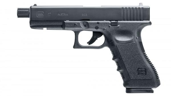 Druckluft - Glock 17 m. Gewindelauf