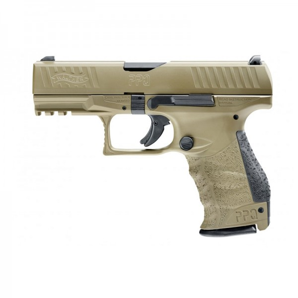 Walther PPQ M2 FDE .22lr 4 Zoll
