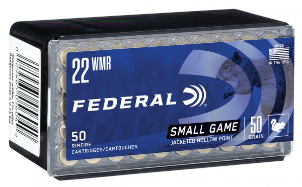 Federal .22 MAG 50gr. JHP