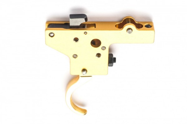 Rusan - Trigger system without safety, gold plated - Mauser 98/48, Zastava M70