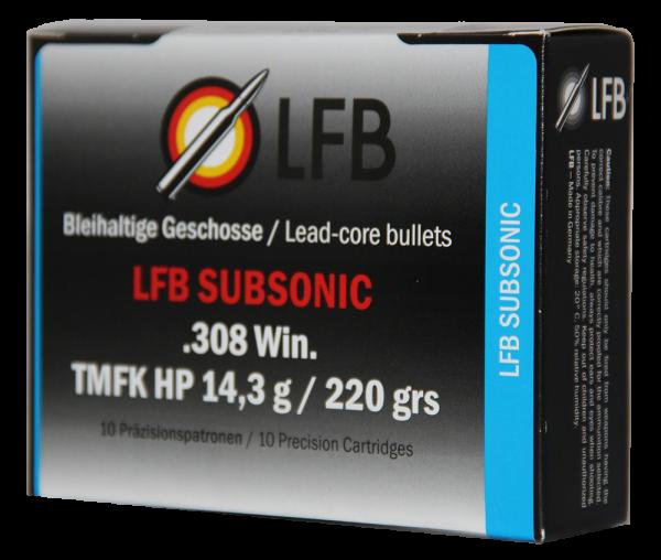 LFB Subsonic .308 Win. TMFK HP 14,3g / 220 grs