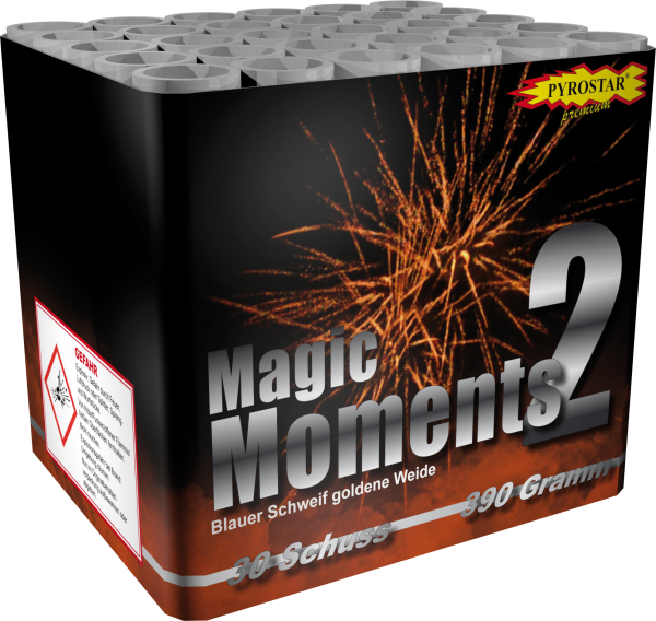 Magic Moments 2 Batterie - 30 Schuss