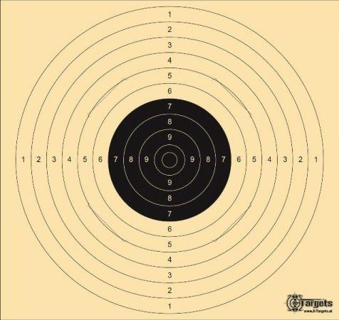 X-Targets - Standard XLS Zielscheibe