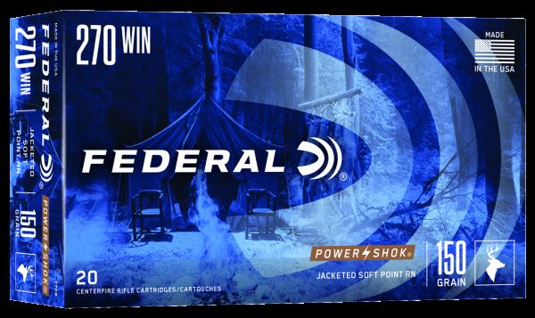 Federal Classic .270 Win. SP 150gr./9,7g Power Shok