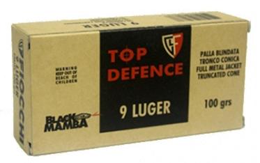 Fiocchi Black Mamba 9mm Para (100grs)