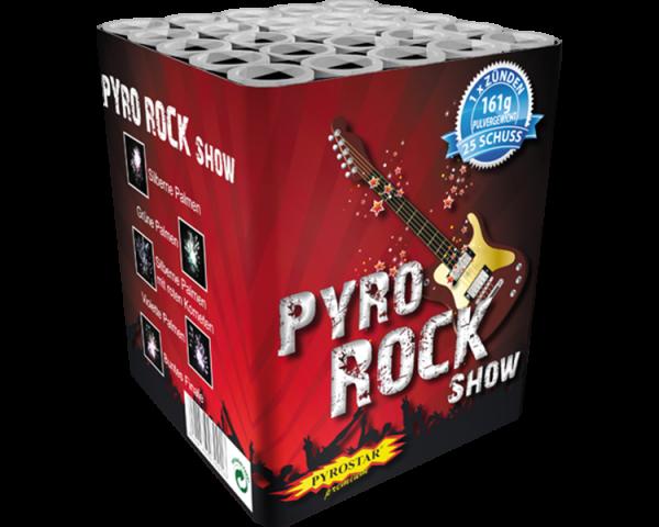 Pyro Rock Batterie 25 Schuss