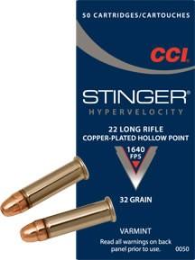 CCI .22lr Stinger 32gr.