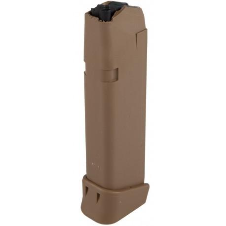 Glock 19x Coyote Tan Magazin - 9mm Para - 17+2 Schuss