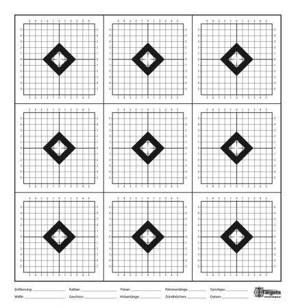 X-Targets - SX9 Zielscheibe