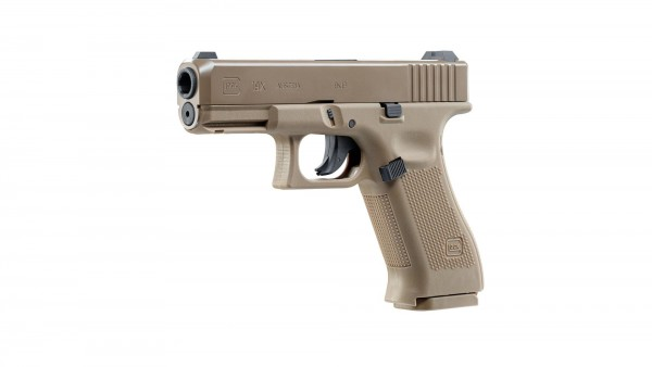 Druckluft Glock 19x FDE