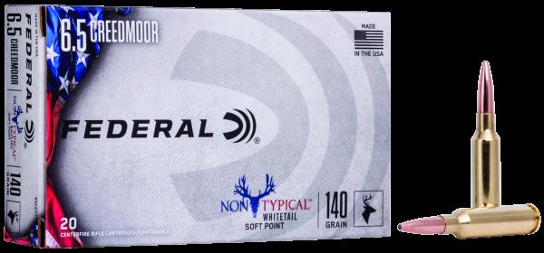 Federal 6,5 Creedmoor Non Typical SP 140gr./9,1g