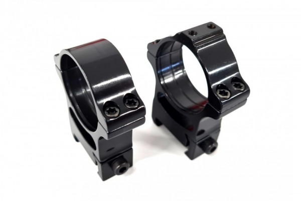Rusan - Weaver Ringe - 30mm - Screw + Interface for Adapters