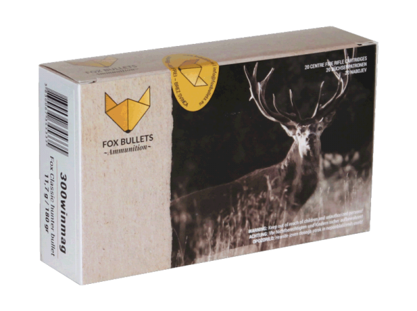 Fox Bullets - .300 Win Mag. bleifrei