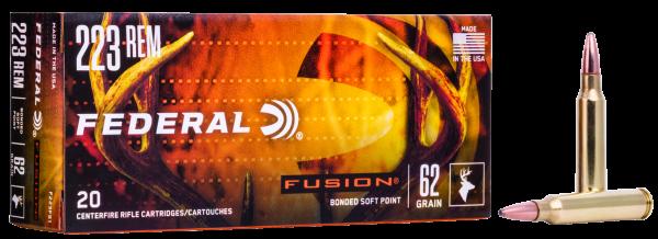 Federal - .223 Rem. Fusion 4,02g/ 62gr.
