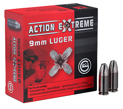Geco Action Extreme 9mm Para - 20er Pack
