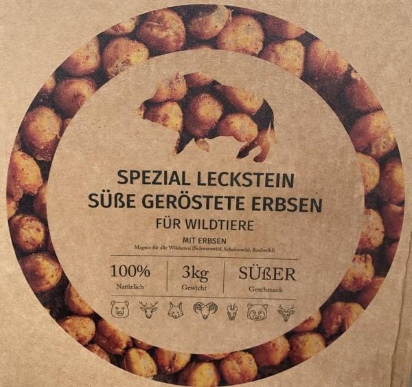 Spezial Leckstein - Süße geröstete Erbsen
