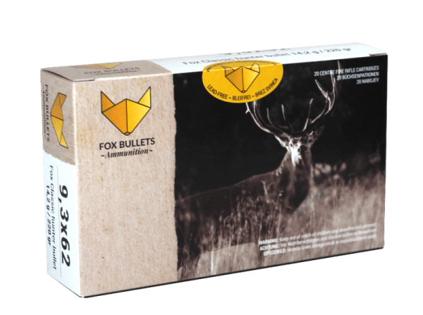Fox Bullets - 9,3x62 bleifrei