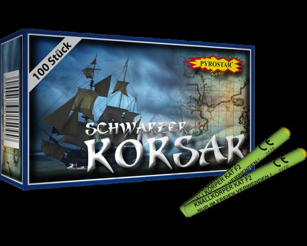 Schwarzer Korsar 100-tlg.