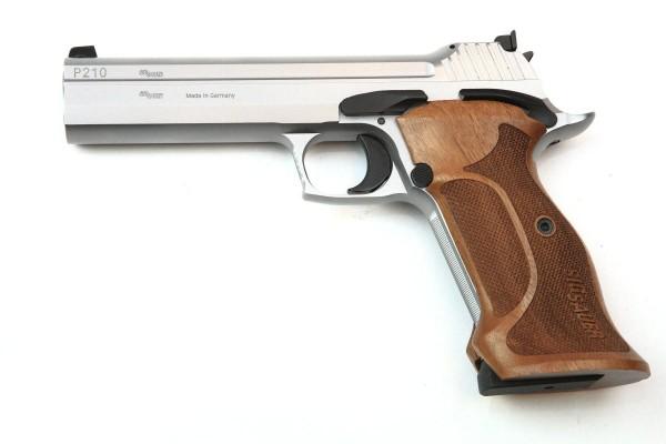 """SigSauer P210 Target Silver - 9mm Para - 5"""""""