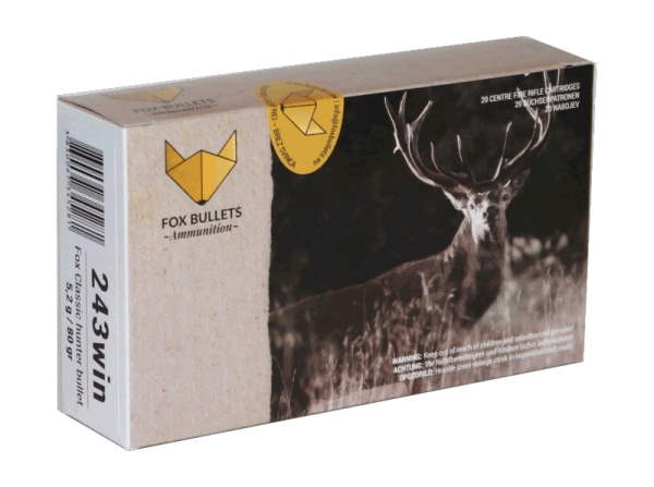 Fox Bullets - .243 Win bleifrei
