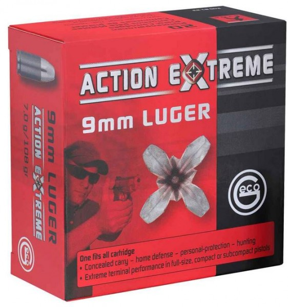 Geco Action X-Treme 9mm Para - 20er Pack