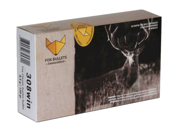 Fox Bullets - .308 Win. bleifrei
