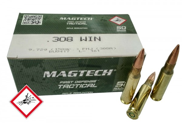 Magtech .308Win FMJ 150grs / 9,7g
