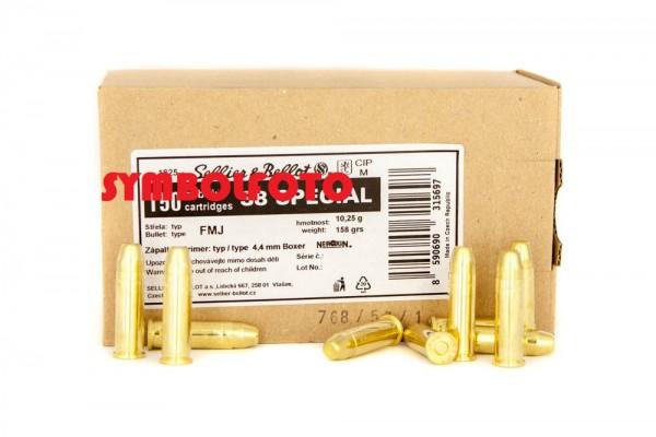 S&B .38Special Teilmantel - Schüttpackung 150 Schuss