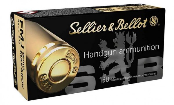 S&B 9mm Makarov 9x18mm - 95grs/6,1g - 50er