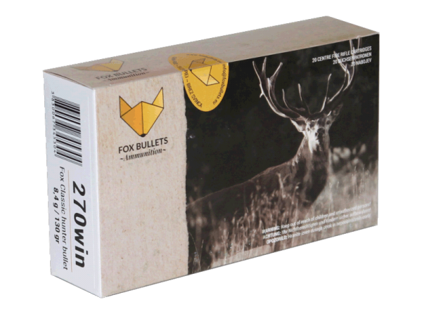 Fox Bullets - .270 Win bleifrei