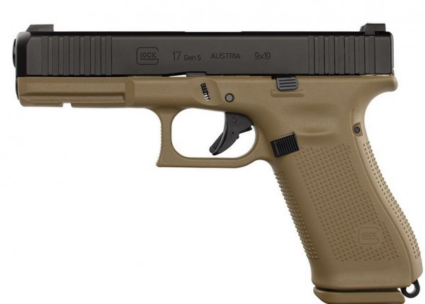 Glock 17 Gen 5 FR Coyote - LIMITED EDITION - 9mm Para