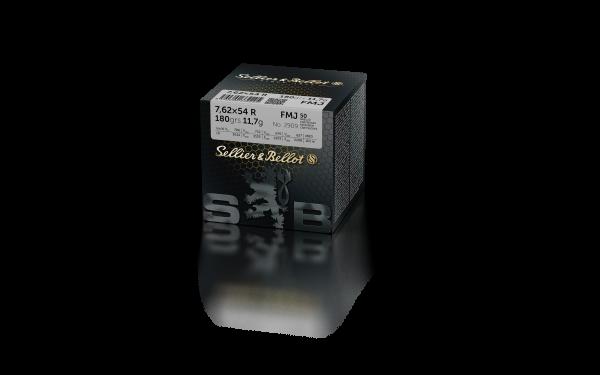 S&B 7,62x54R VM 180gr./11,7g - 50er Pkg