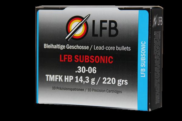 LFB Subsonic .30-06 Sprg. TMFK HP 14,3g/220grs