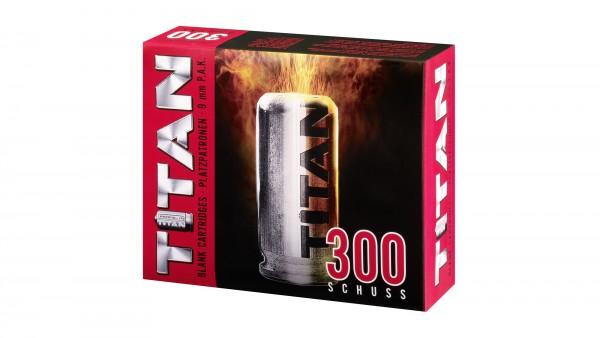 Titan Platzpatronen 9mm PAK - 300Stk.
