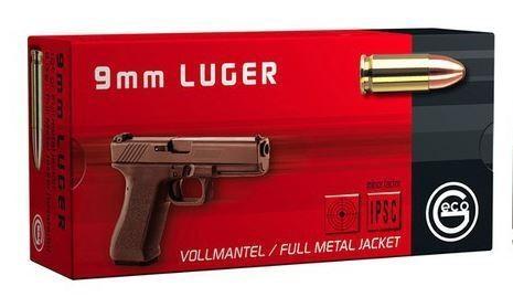 Geco 9mm Para FMJ 124grs/8,0g