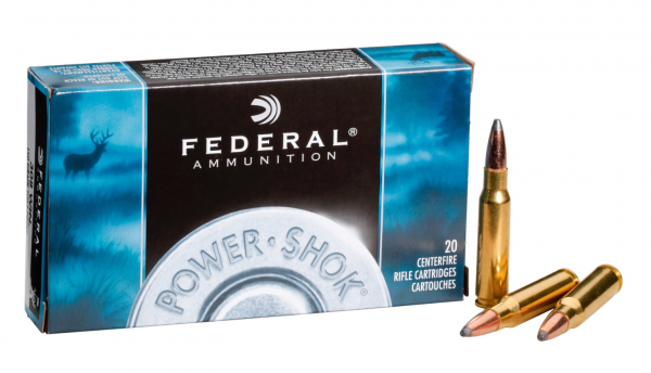 Federal .243 Win 100gr/6,47g SP Power Shok