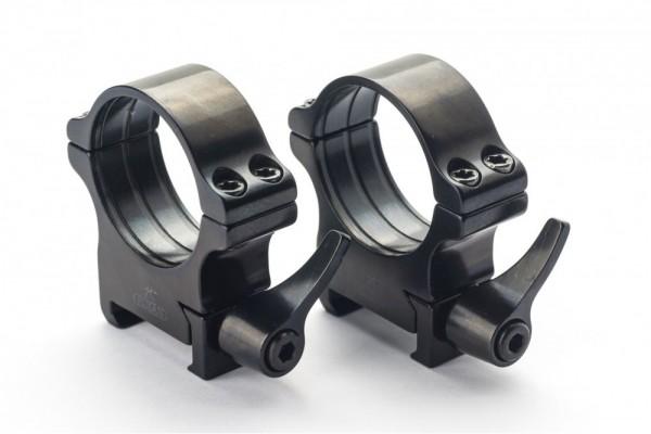 Rusan Picatinny Rings - QR(Quick Release) 25,4mm - 40mm