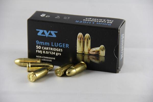 ZVS 9mm Para FMJ