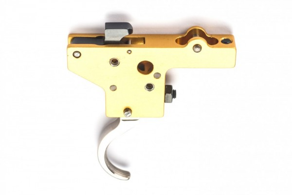 Rusan - Trigger system without safety, nickel plated - Mauser 98/48, Zastava M70
