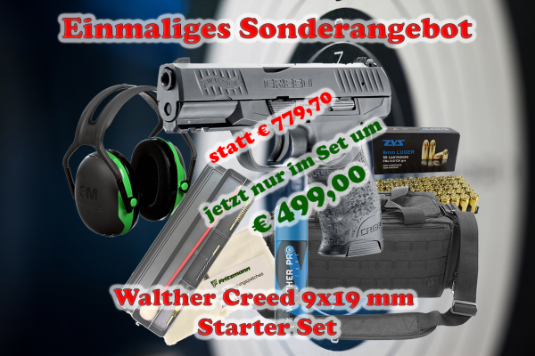 Walther Creed - Starter Set
